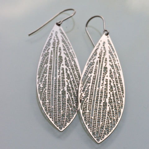 cross-venulate earrings