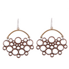 radiolaria earrings