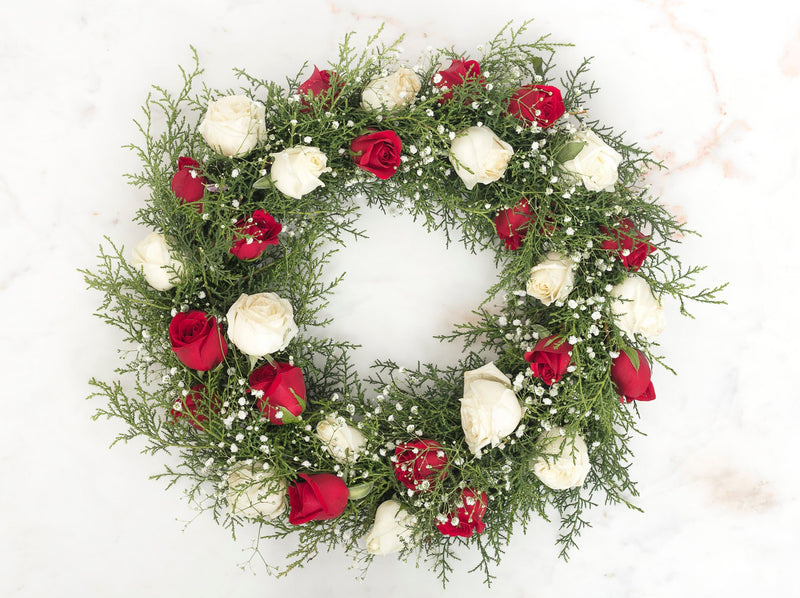 Holly Jolly Wreath