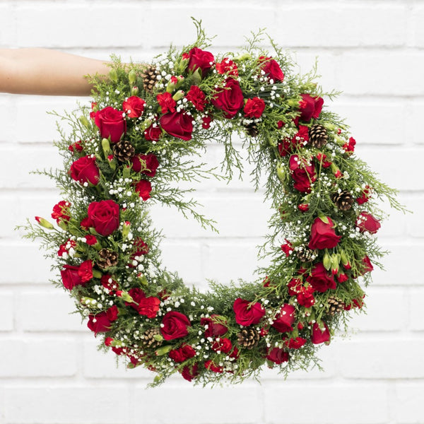 Holly Herald Wreath