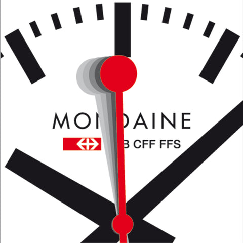 Mondaine stop2go Official Swiss Railways Watch