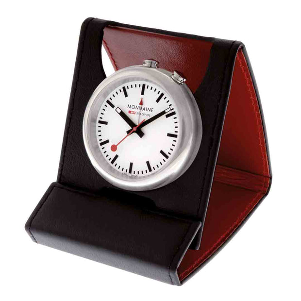 Table clock, 40mm, alarm clock, A468.30319.11SBB