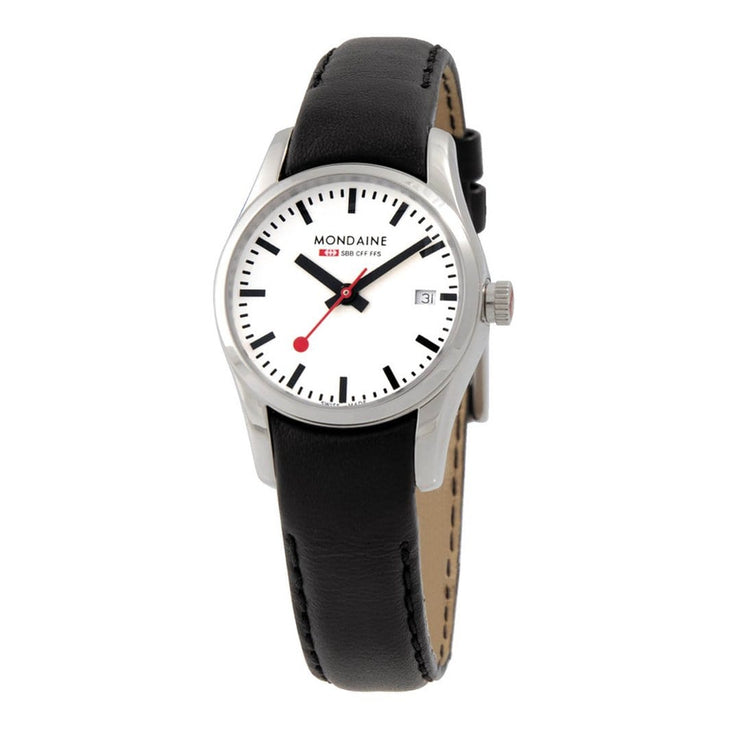 Specials, 28mm, black leather watch, A629.30341.11.XL