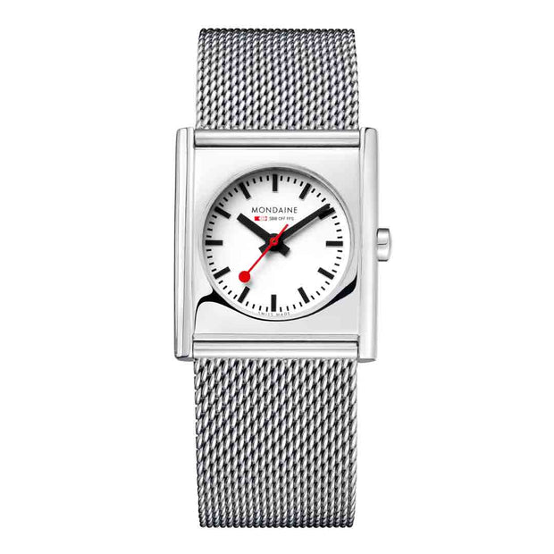Mondaine Official Swiss Railways Evo Cube