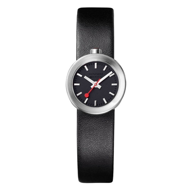 Specials, 22mm, black leather watch, A666.30324.14SBB