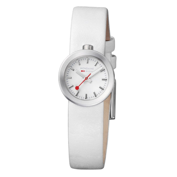 Mondaine SBB Aura Womens Watch White