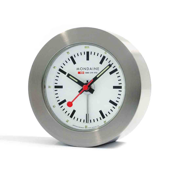 Table clock, 48mm, travel alarm, A992.TRUK.16SBB