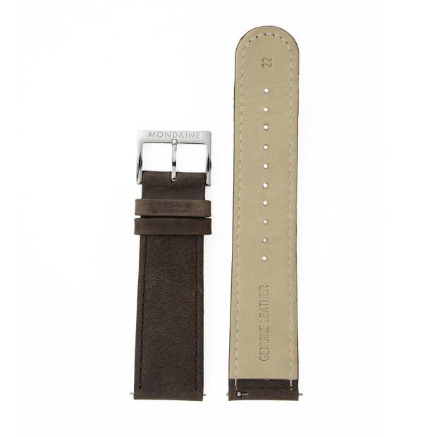 Genuine leather strap, 22mm, FEM.16822.70Q.2.K
