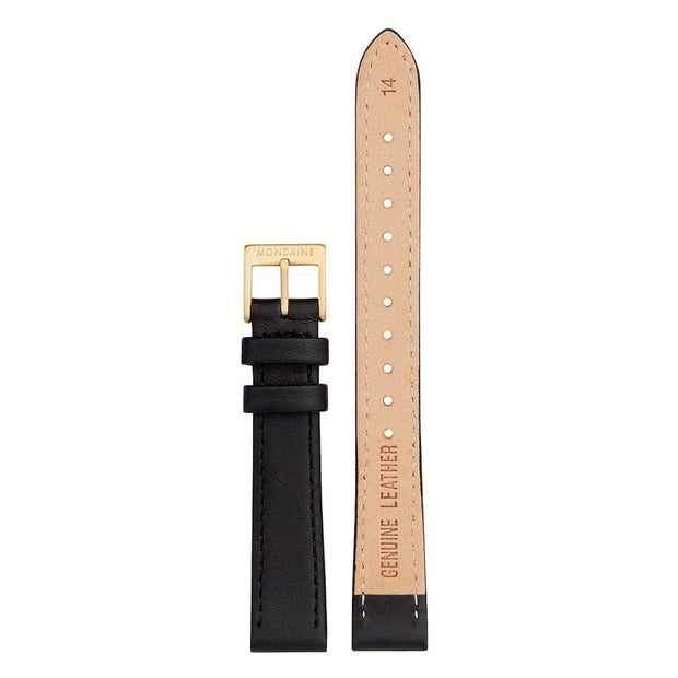 Genuine leather strap, 14mm, FEM.24314.20R.1.K