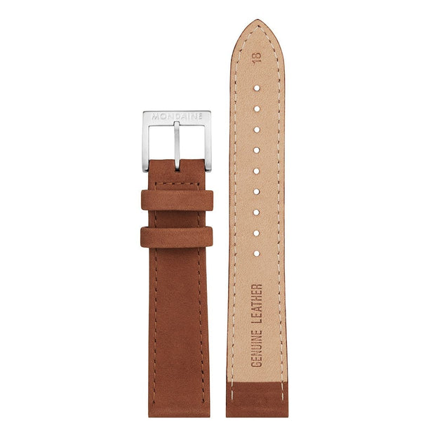 Genuine leather strap, 18mm, FEM.24318.70Q.1.K