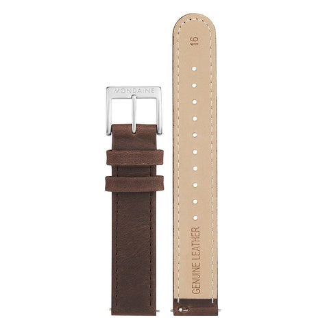 Genuine leather strap, 16mm, FEM.3116.70Q.2.K