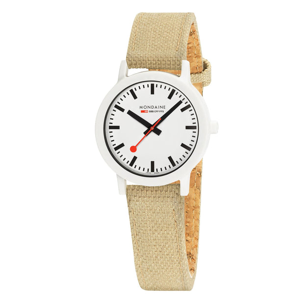essence, 32mm, sustainable watch for women, MS1.32110.LS