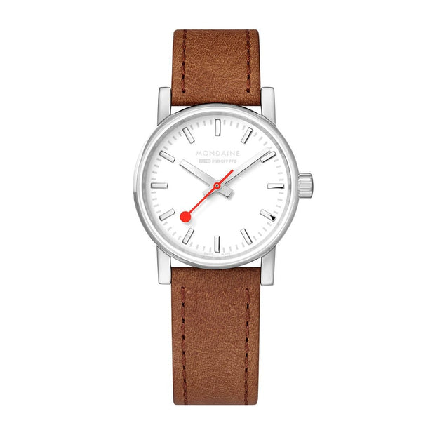 evo2, 30mm, casual leather watch for women, MSE.30110.LG