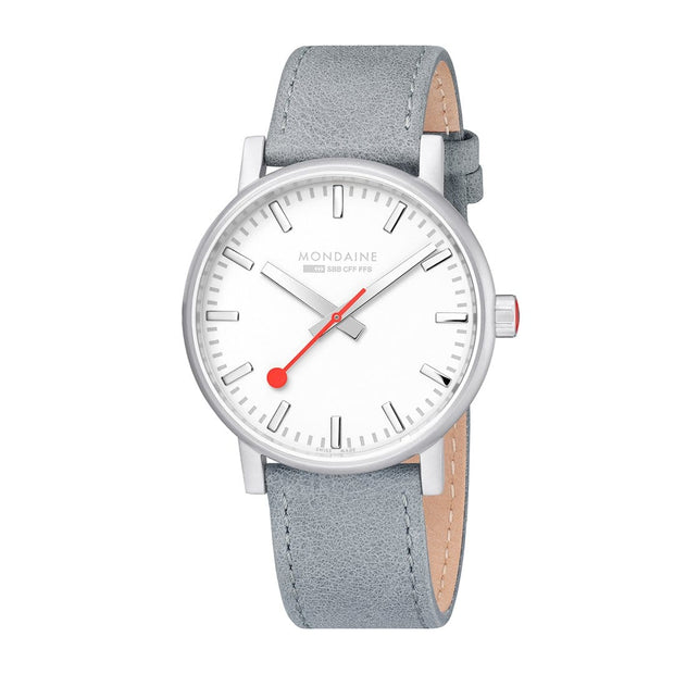 Mondaine Watch Evo2 40mm Grey