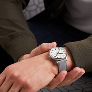 Mens Watch SBB in grey