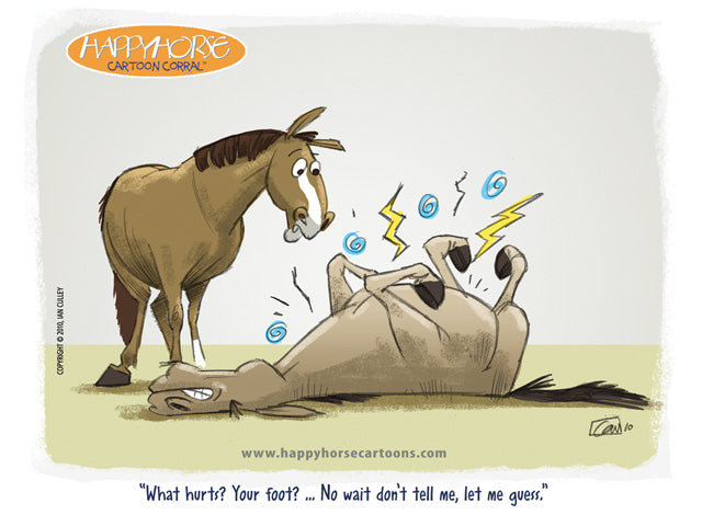 Pain Is Funny April 18 2011 Happyhorse Cartoons Give