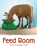 Barn Signs: Feed Room