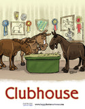 Barn Signs: Clubhouse