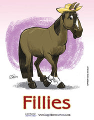 Barn Signs: Fillies