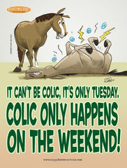 Barn Signs: Colic