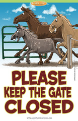 Barn Signs: Gate
