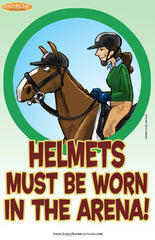 Barn Signs: Helmets