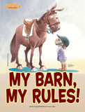 Barn Signs: Rules