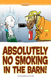 Barn Signs: No Smoking