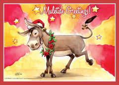 Card: Season's Greetings -Muletide