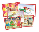 Card: Assorted Xmas box set (10 Pack)