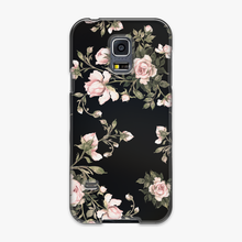 Load image into Gallery viewer, Tough - Phone Case with Flowers on Black Background