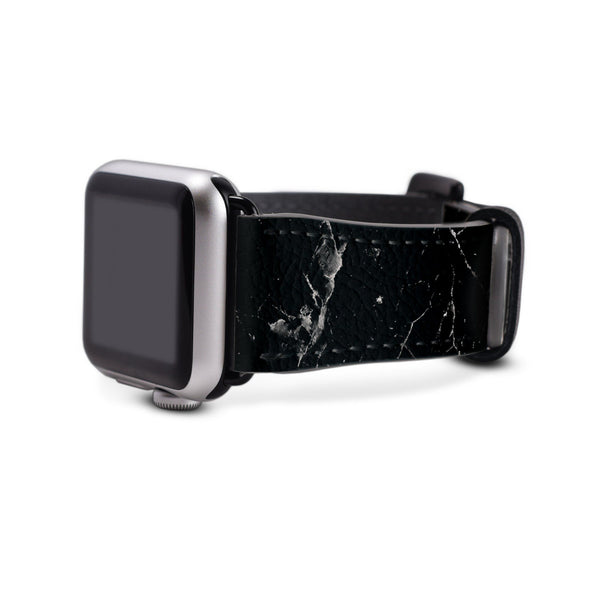 Dark Black Marble 42MM