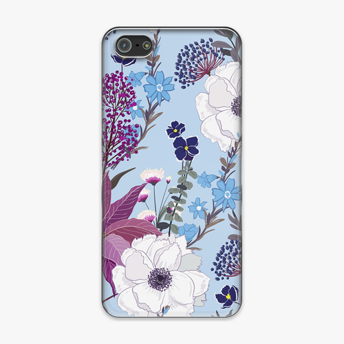 Tough iPhone 5 Phone Case - Attractive Flower Design