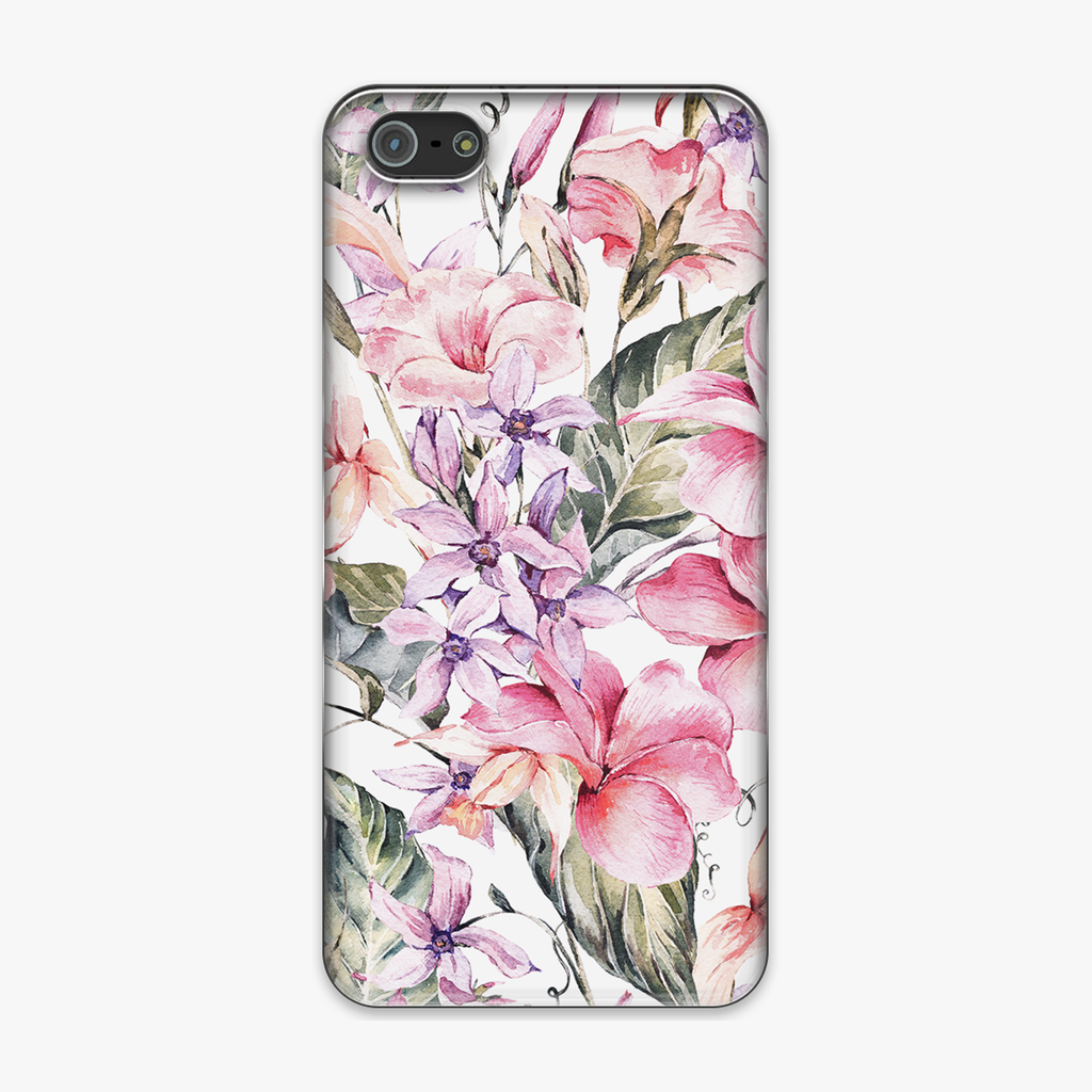 Tough iPhone 5 Phone Case - Fabulous Floral Design