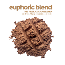 Load image into Gallery viewer, A serving of Smoov's euphoric blend: Treat yourself, don't cheat yourself. Enter euphoria, using raw and all natural cacao and superfoods that complement it oh-so-well, let this rich and nutritious blend take you to a land of chocolatey goodness where all your cravings are satisfied.