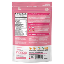 Load image into Gallery viewer, Back of Smoov Blends blush blend- Nutritional information, ingredients, creative description, how to use, why smoov, country of origins and UPC GTIN code