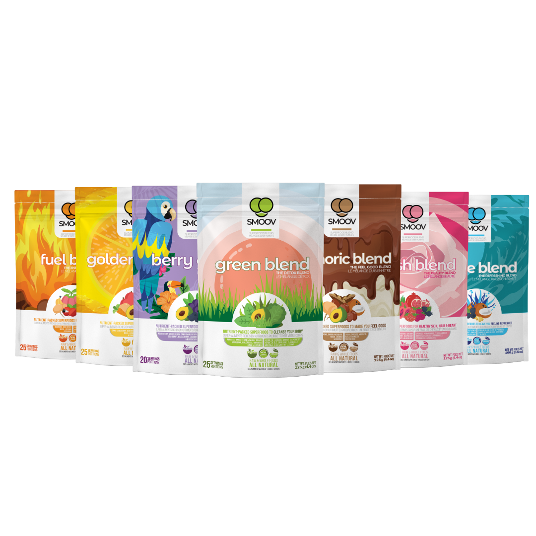 Smoov Ultimate Health Bundle- Powerful Superfood Blends to Boost Health, Immunity, Energy Levels