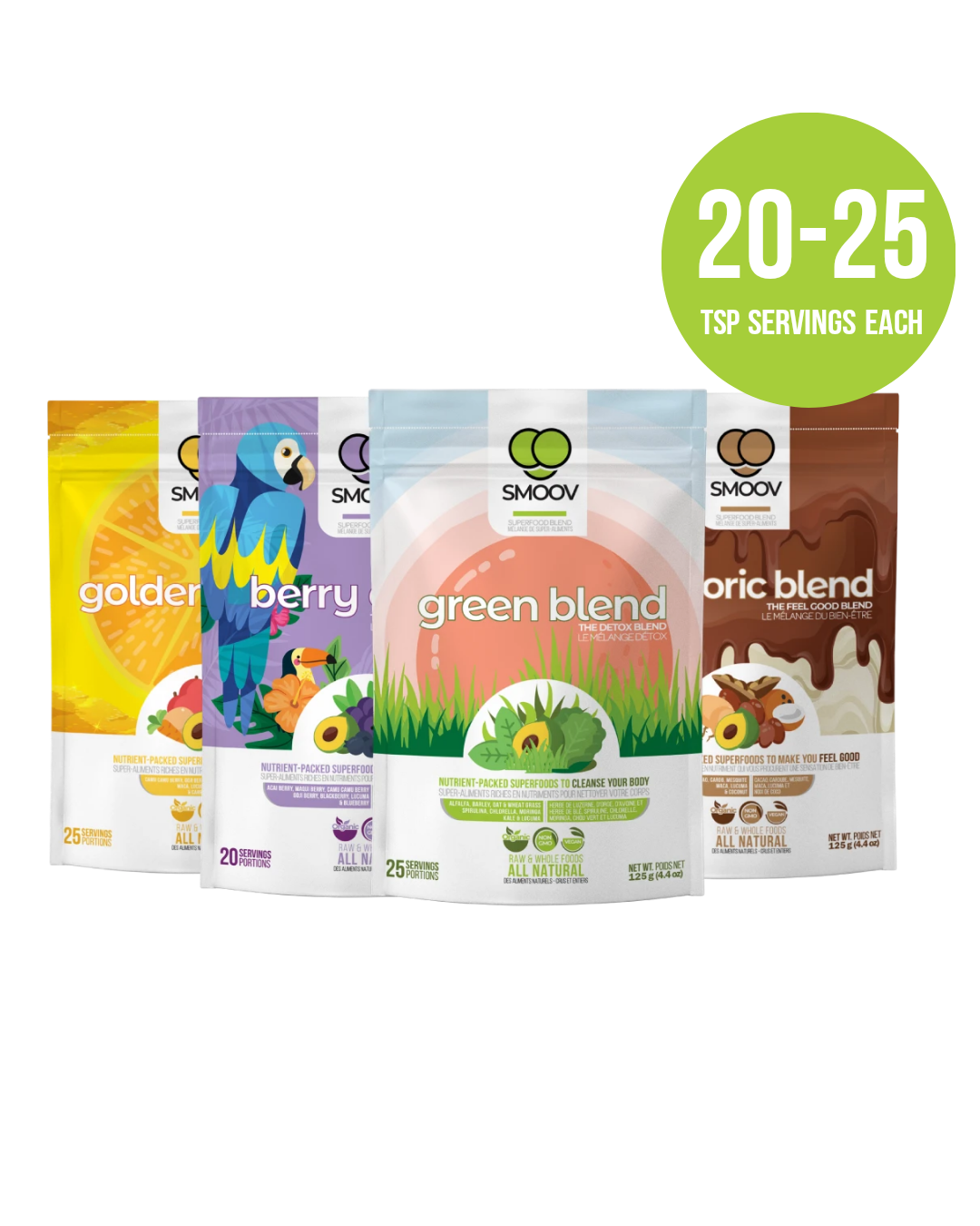 Health Essentials Bundle - SMOOV - Nutrient packed Superfoods to help Improve Health & Diet