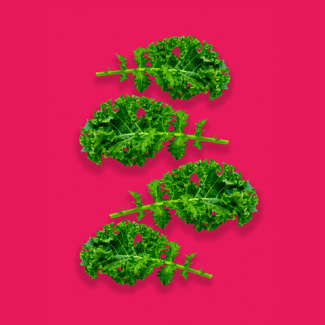 The third step in making the perfect smoothie is picking your veggies. The veggies that work best are: Spinach, kale, brocolli, carrots, cucumber, tomatoes, lettuce, red beet, celery.