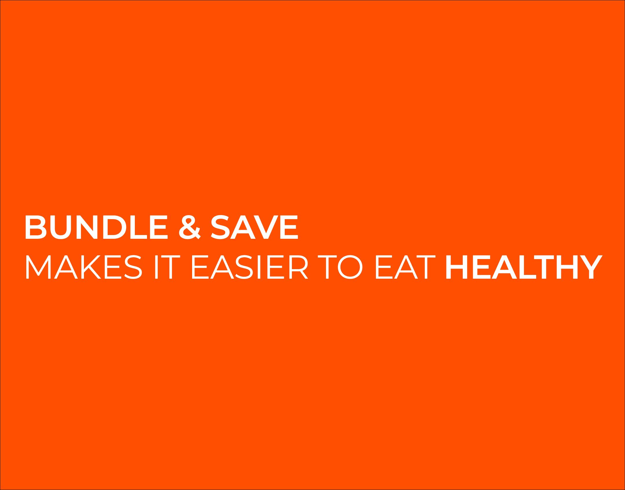When you buy Smoov blends bundles, you save and make it easier for yourself to eat healthy!