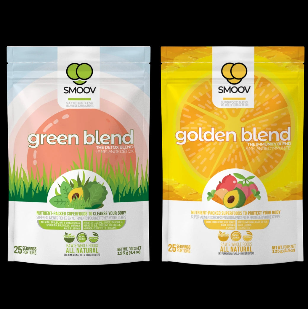 SMOOV immunity bundle: The easiest way to get kids to eat their fruits & veggies. Raw, whole and convenient superfood powders.