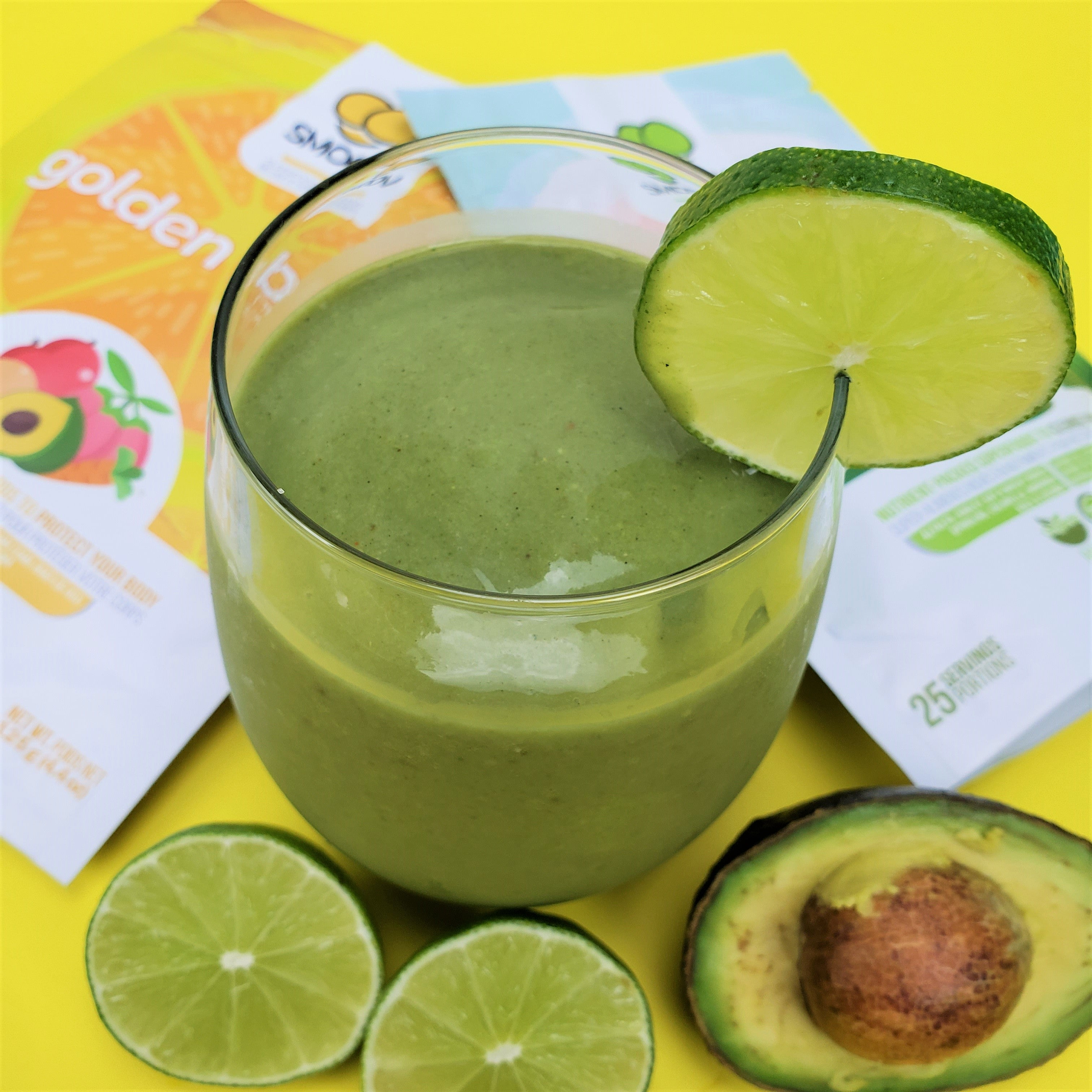 Kickstart your health and boost your immune system with this delicious green smoothie!  Delicious, super easy to make and packed with vitamins.