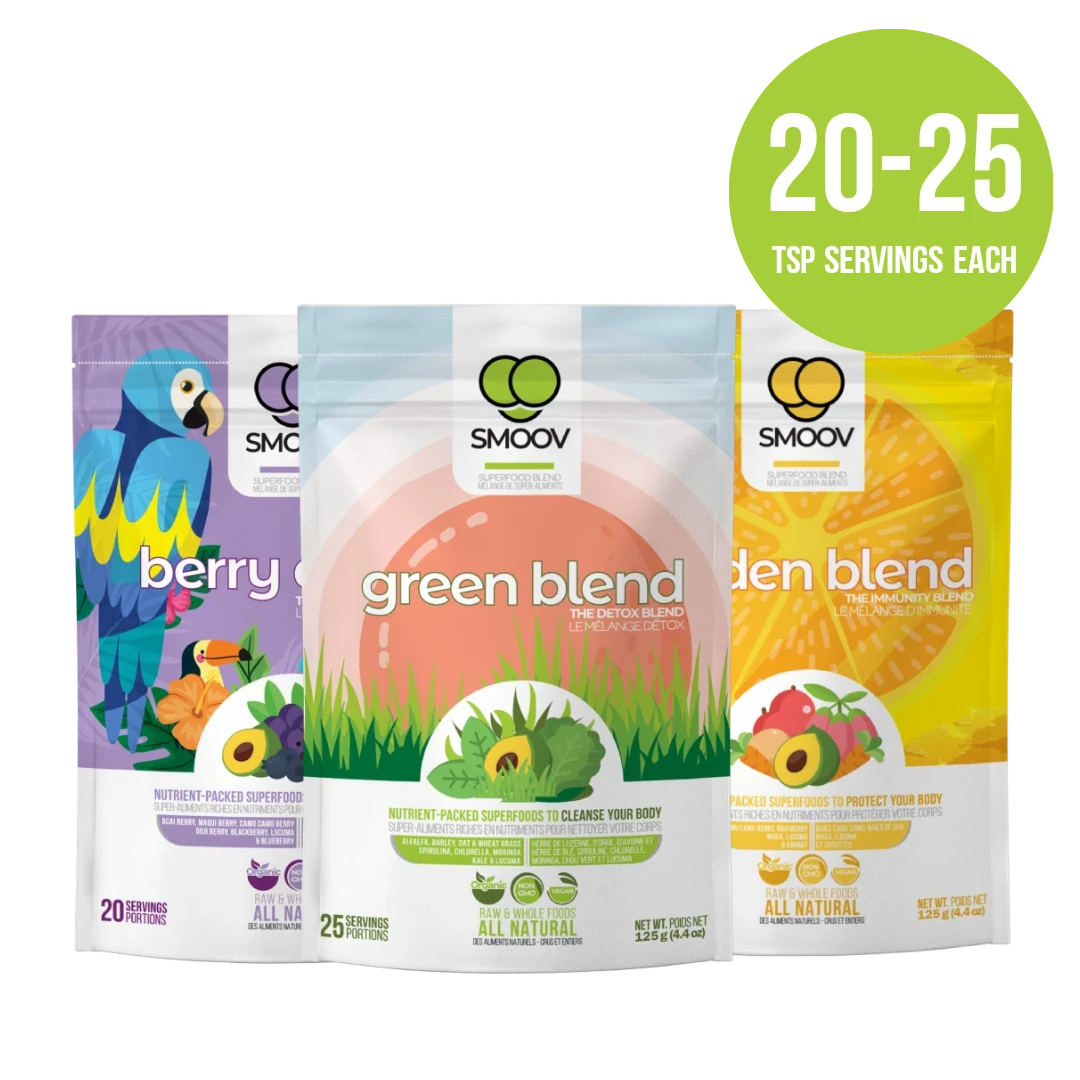 SMOOV Berry Exotic Blend - Vibrant and Functional Superfood Blends - SMOOV.ca