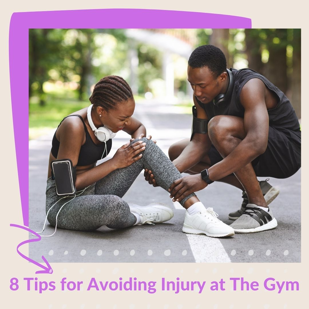 8 Tips for Avoiding Injury at The Gym