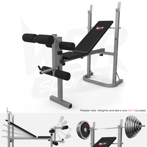 XBench folding weight bench by WeRSports