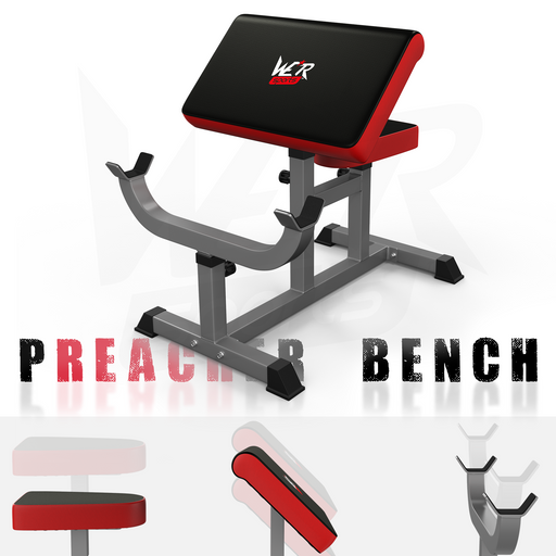 Biceps preacher bench from WeRSports