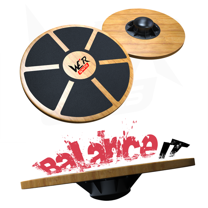 BalanceIT Wooden Balance Board from WeRSports