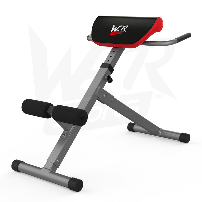 WeRSports silver extension bench for strength training