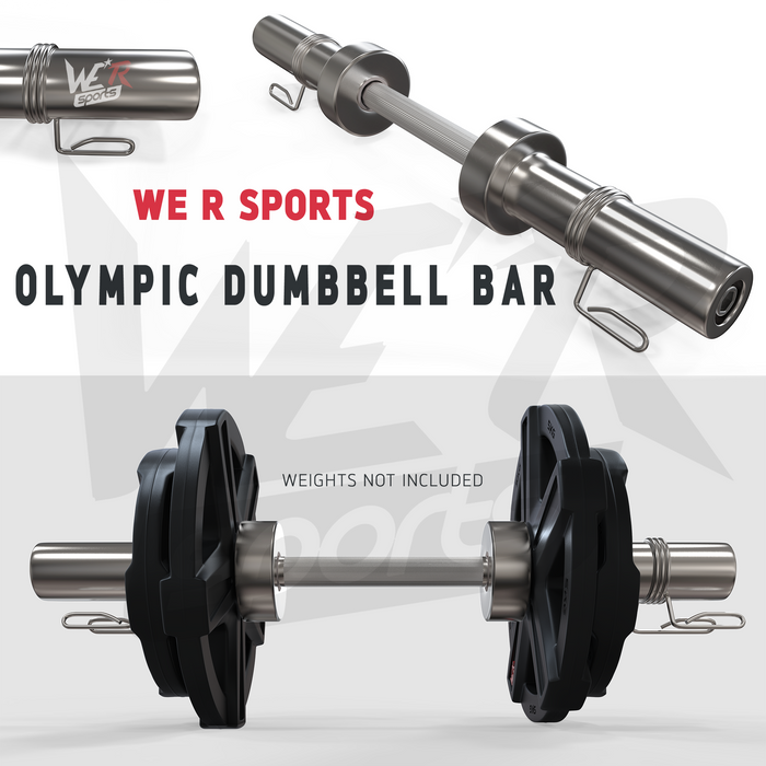 FlexBar Olympic Dumbbell Bars Set from WeRSports