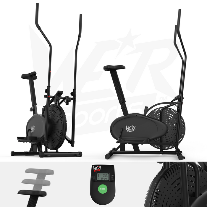 RevXtreme 2 in 1 cross trainer and exercise bike from WeRSports